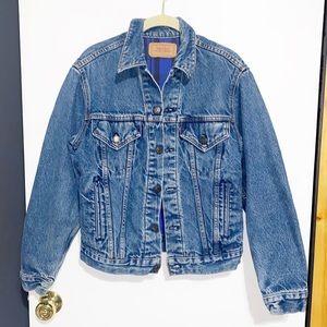 Vintage Levi's USA Made Flannel Lined Denim Jacket
